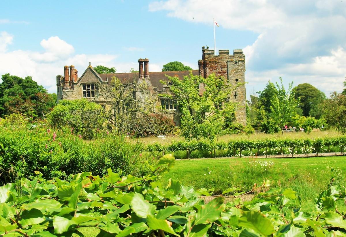Engelsk Trädgård: Hever Castle