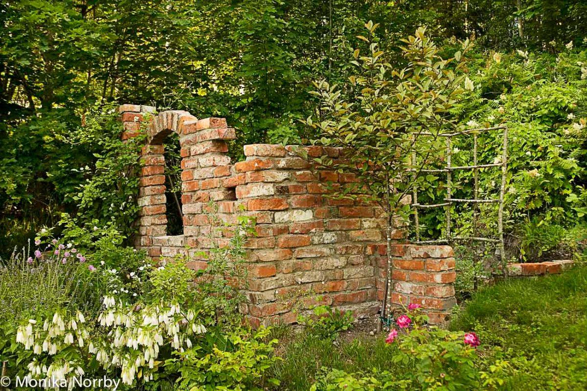 Själen i en norrländsk trädgård